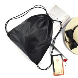"""Drawstring Bag Polyester Waterproof Portable 16""""x12"""" for Tra"""