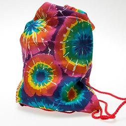 """1 ~ Tie-dye Backpack ~ Approx. 10"""" X 15""""  ~ Polyester ~ New"""