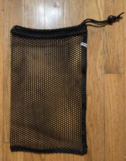 10 BAGS!! NEW!! Adams Black Nylon Mesh Sports Equipment Draw