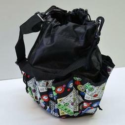 10 Pocket Drawstring Bingo Cards Bag