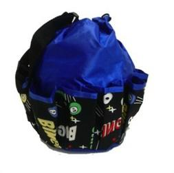 10 Pocket Drawstring Bingo Space Bag
