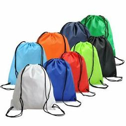 12 pack folding sport backpack drawstring bag