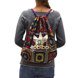 Adidas Womens Originals Crochita Gym Sack Draw String Bag Li