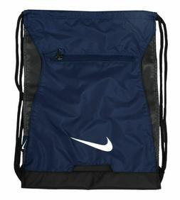 NIKE ALPHA ADAPT GYMSACK NAVY BLUE/BLACK DRAWSTRING BAG BACK