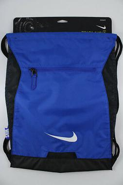 NIKE ALPHA ADAPT GYMSACK ROYAL BLUE/BLK DRAWSTRING BAG BACKP