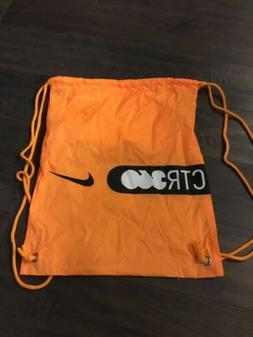 Nike Soccer Ctr360 mens womens drawstring bag NWOT new Yello