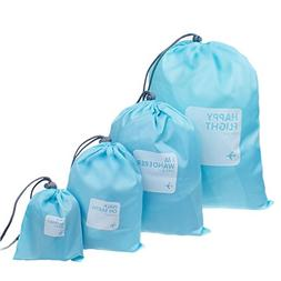Nylon 4 In 1 Drawstring Bags/Ditty Bag/Cord Bag Home Storage