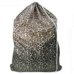 "Nylon Laundry Bag - Jumbo - Camp, College Dorm 28""x40"" Zebra"