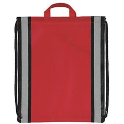Pack of 50- Two Tone Non Woven Small Drawstring Backpack Cin