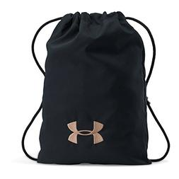 Under Armour Ozsee Cupron Sackpack,Black /Black, One Size