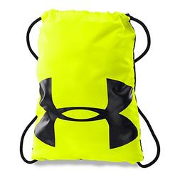 Under Armour Ozsee Drawstring Sackpack Backpack, Hi-Vis Yell