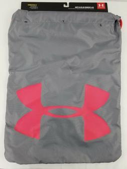 Under Armour Unisex Ozsee Elevated Reflective Sackpack, Stee