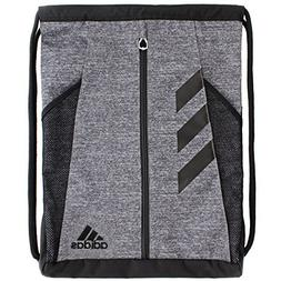 adidas Team Issue Sackpack, Onix Jersey/Black, One Size