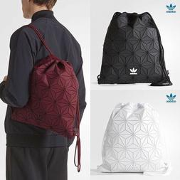 Adidas Originals Issey Miyake BLACK Drawstring Geometric Gym