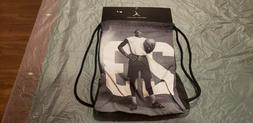 Nike Air Jordan Jumpman Drawstring Gym Bag Sack Backpack - B