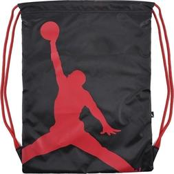 Nike Air Jordan Jumpman Drawstring Gym Bag Sack Backpack Bla