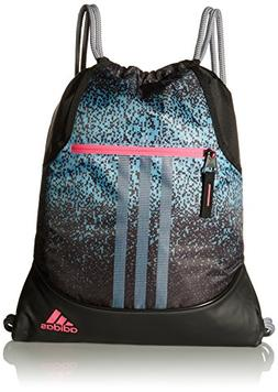 adidas Alliance Sublimated Prime Sackpack, Grey/Black, One S