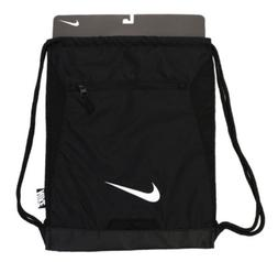 NIKE ALPHA ADAPT GYMSACK BLACK DRAWSTRING BAG BACKPACK GYM S