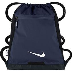 91e37219415f NIKE Alpha Adapt Team Training Drawstring Gymsack Navy