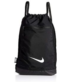 Nike BA5953-010: Mens Black/Black/White Alpha Gym Sack