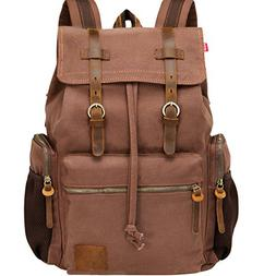 Backpack for 17 inch Laptops Vintage bag Large Backpack Scho
