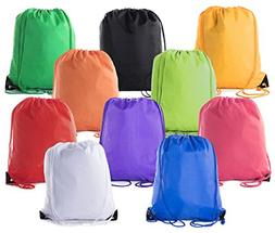Mato & Hash Drawstring Bulk Bags Party Favors Cinch Sacks Bu