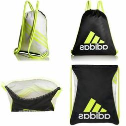 Adidas BLACK VOLT BURST Sackpack Sling Backpack School Sport