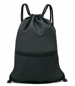 Brand New HOLYLUCK Drawstring Backpack Bag Sport Gym Sackpac