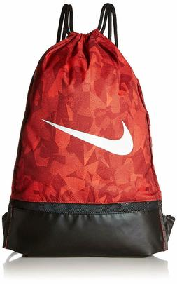 Nike Brasilia Gym Sack Large Bag BA6085-634 Red Camo Just Do
