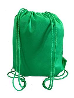 Pack of 12 Budget Friendly Well Made Non Woven Drawstring Ba
