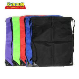 Bulk 20 Pack Drawstring Backpack Sports Cinch Sack Assortmen