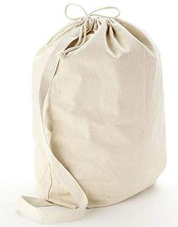 BagzDepot Canvas Laundry Shoulder Bags - Heavy Duty Well Mad