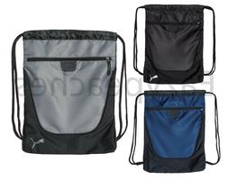 PUMA Carry Sack with Pocket, Drawstring Backpack, School, So