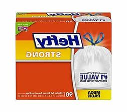 Hefty CinchSak Tall Kitchen & Trash Bags, 13 GAL., 9mil, Whi