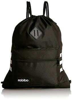 adidas Classic 3S Sackpack, Black, One Size