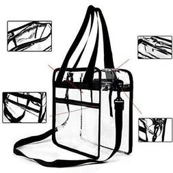 Youngever Clear Bag - 12 X 6 X 12  - Stadium Approved - Clea