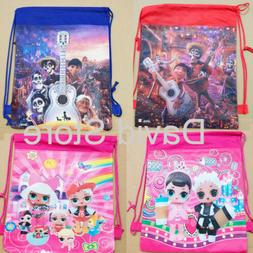 COCO LOL Drawstring Backpack Girls PE Swimming Birthday Part