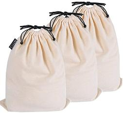 Misslo Cotton Breathable Dust-proof Drawstring Storage Pouch