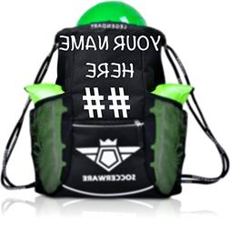 Custom Personalized Soccer Bag Backpack - XL Capacity for Yo