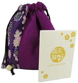 Cute Japanese Drawstring Purse Pouch Bag 6.25 x 5.5 Inches P