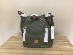 Dooney & Bourke Cooper Pebbled Leather Drawstring Bucket Bag