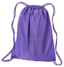 Liberty Bags Large Drawstring Backpack, One Size, LAVENDER