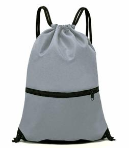 HOLYLUCK- Drawstring Backpack Bag, Sport Gym Sackpack