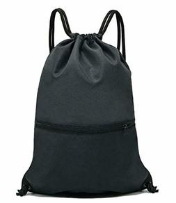 HOLYLUCK Drawstring Backpack Bag Sport Sackpack For Gym Spor