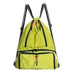 Daygos Drawstring Backpack Lightweight Foldable Waterproof S