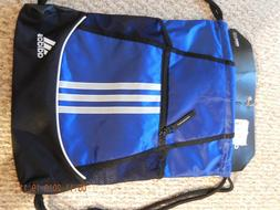 Adidas Drawstring Backpack Sackpack Sport Gym Bag School Tra