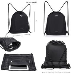 Drawstring Backpack Sports Gym Waterproof String Bag Cinch S
