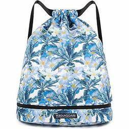 Drawstring Backpack String Bag Sackpack Cinch Water Resistan
