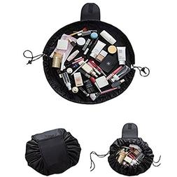 Fashion Drawstring Cosmetic Bag Travel Lazy Makeup Storage B