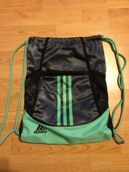 Adidas Drawstring Bag/Sackpack Green